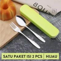 FS762 Set alat makan (Sendok garpu) stainless steel