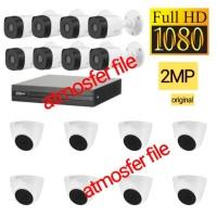 PAKET CCTV DAHUA 16CH FULL HD 16 CCTV 2MP HDD 4TB KOMPLIT