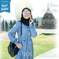 Baju Gamis Wanita Fashion Terbaru Jubah Dress Cewek Pesta Casual Keren