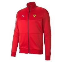 Jaket Pria Puma Scuderia Ferrari T7 Men's Track Jacket 596141-01