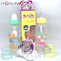 Botol susu sendok bayi smile bear/baby bottle 3 in 1 PP 250 ml HL 809