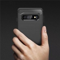 Rugged Armor Carbon Soft Case Samsung Galaxy M10