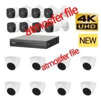 PAKET CCTV DAHUA 16CH ULTRA HD 5MP HARDISK 2TB NON KABEL