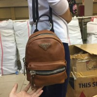 Tas Wanita Backpack Ransel Multifungsi Prada Impoert Semipremium