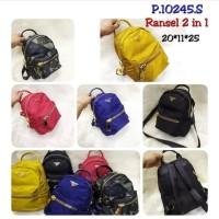 Backpack Prada Semprem | Ransel Wanita | Ransel Pria | Tas Import