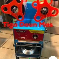 Cup Sealer Mesin Press Et-A9 Cup Sealler Semi Otomatis Dengan Counter
