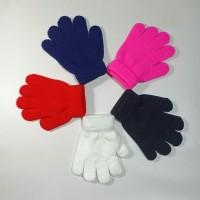 Sarung Tangan Anak Rajut Polos usia 6-8 tahun / Sarung Tangan Anak
