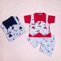 Setelan baju bayi model rompi / baju bayi produk lokal berkualitas