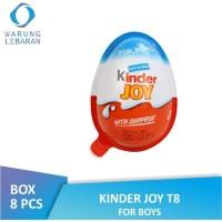 [PACK] Kinder Joy Chocolate For Boys (8 Pcs x 20 Gr) / Kinderjoy