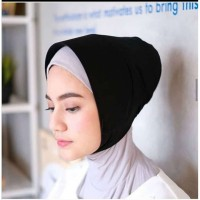 Ciput topi hitam trendy murah