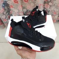 Sepatu Nike Air Jordan 34 Black Varsity Red White