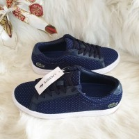 LACOSTE SEPATU WANITA SNEAKERS WOMEN SHOES ORIGINAL bk kw hush puppies