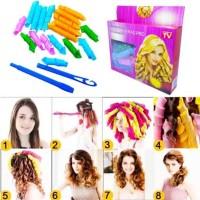 Alat Keriting Pengikal Rambut Magic Laverage Instant Curly Hair