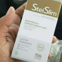 STEI SLIM 💯% ORIGINAL STAI SLIM ASLI OBAT DIET PELANGSING BADAN