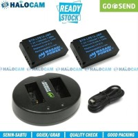 Wasabi Power PAKET 2 Battery & Charger for LP-E12 - M10 M50 M100 M200