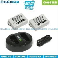 Wasabi Power PAKET 2 Battery & Charger for LP-E8 550D 600D 650D 700D