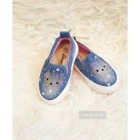 Sepatu anak import HELLO KITTY JEANS MURAH Y104