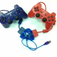 HOT SALE STICK/STIK PS2/PS 2 OP WARNA PAKET DENGAN CONVERTER STIK