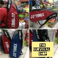 Tas Raket Yonex 2 R Produk Lokal Kwalitas export dan paling murah