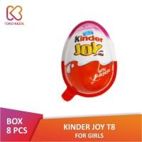 [PACK] Kinder Joy Chocolate For Girls (8 Pcs x 20 Gr) / Kinderjoy