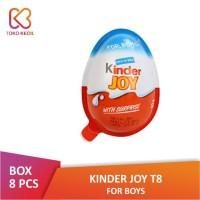 [PACK] Kinder Joy Chocolate For Boys (8 Pcs x 20 Gr) | Kinderjoy