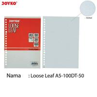 Kertas File Binder Loose Leaf Dot/Titik A5-100DT-50 Isi 50 Sheets