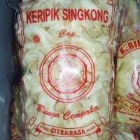 DISKON HARGA PROMO TERMURAH!! Keripik Singkong Bunga Cempaka 125gram