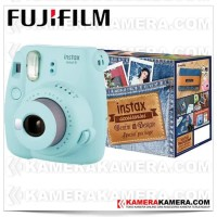 Fujifilm Instax Mini 9 Denim Package (Ice Blue