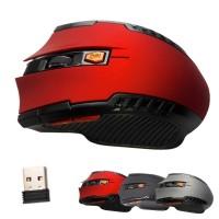Terbaik Mouse Gaming Optical Wireless 2.4Ghz dengan Receiver USB