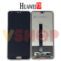 LCD TOUCHSCREEN HUAWEI P20 LCD FULLSET - Hitam