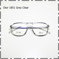 Frame Kacamata Bisa Minus Plus Vintage Kuno Plastik Retro 1851 grey