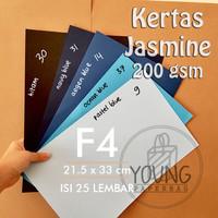 Kertas/Karton JASMINE | Katalog 1 | F4 | 200 gsm | Pack : 25 Lembar