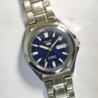 ORIGINAL SEIKO 5 AUTOMATIC blue jam tangan pria asli antik ori langka