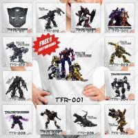 Kaos / Baju Anak Laki Laki Transformers - 13 Motif/Design -