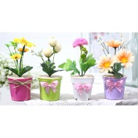1 SET ISI 4 ANEKA Bunga plastik artificial bunga hias dekorasi A1-8