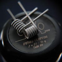 Fused Clapton Full TM Ni80 (Full Twisted Messes Wire Nichrome 80)