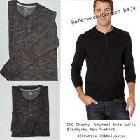 OND chunky Blackgrey Men's T-shirt