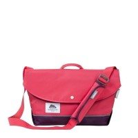 "Promo Hellolulu Hayden All Day Messenger Bag 13"" Wild Strawberry Mura"