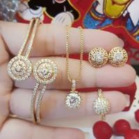 xuping set perhiasan lapis emas 24k 17l8