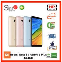 Xiaomi Redmi Note 5 64GB / Redmi 5 Plus 64GB Handphone bekas