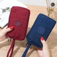 Travel Pouch / Dompet Multifungsi / Pouch Zipper Nylon 3 Sekat
