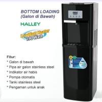GEA HALLEY Dispenser Galon Bawah - Hitam GARANSI RESMI