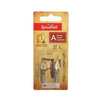 Speedball Square A4/A5 Lettering Nib Set