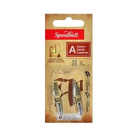 Speedball Square A2/A3 Lettering Nib Set