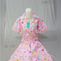 Piyama Katun Jepang Celana Pendek