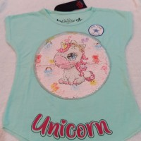 Baju Anak Sequin / Usap Unicorn 1