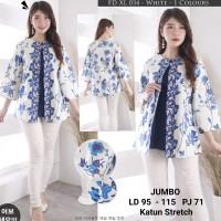 Atasan Batik Modern Wanita / Blouse Batik Lengan Panjang