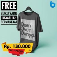 Kaos Dakwah Bunayya Sunnah Clothing Combet 30s Deen Over Dunya