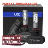 LAMPU LED MOBIL 9005 HB3 ORIGINAL S1 CSP CHIPS 2PCS B0232
