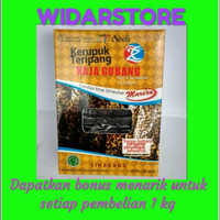 Kerupuk Teripang Raja Gubang Rasa Jengkol Sinabang Aceh 200 gram